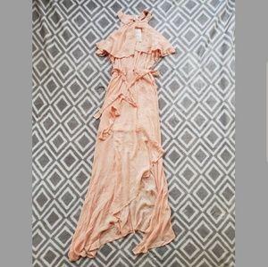 Pink maxi dress - Sm
